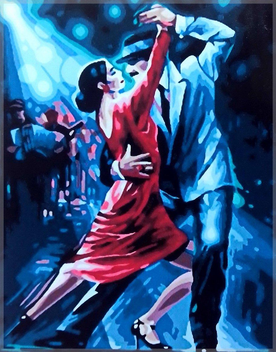 Многослойные открытки, открытки с танцующими танго