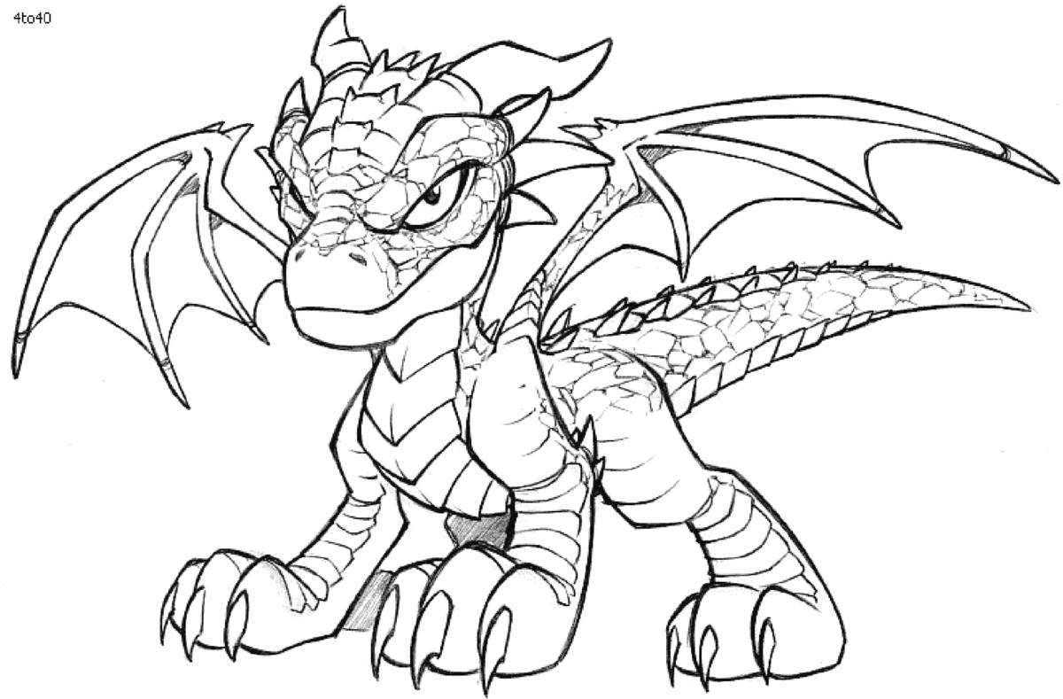 фартук картинка раскраска динозавры и драконы абрамович
