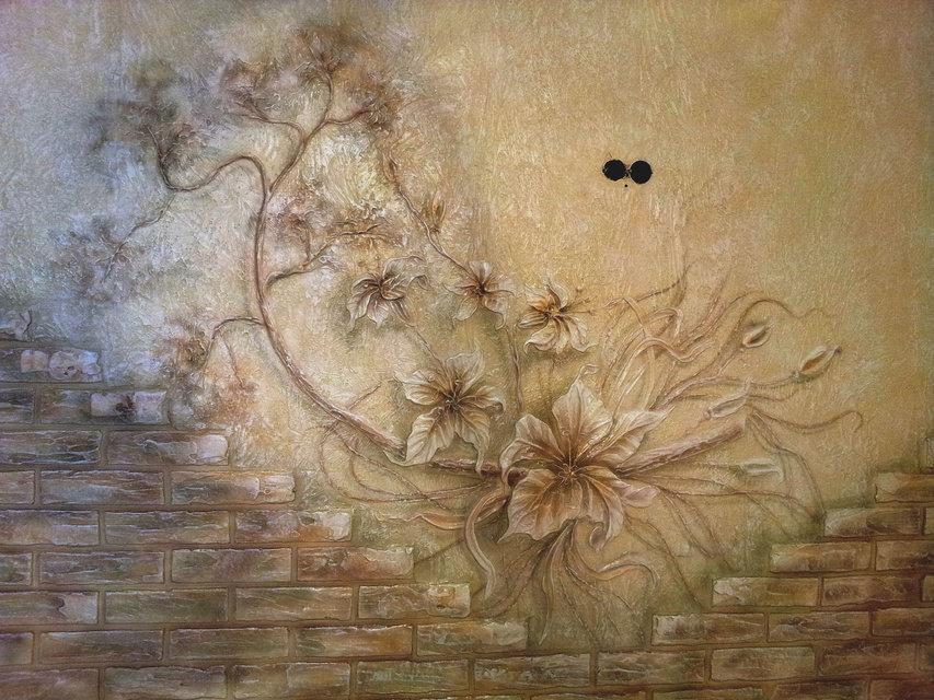 Красивые фактурные картинки на стенах