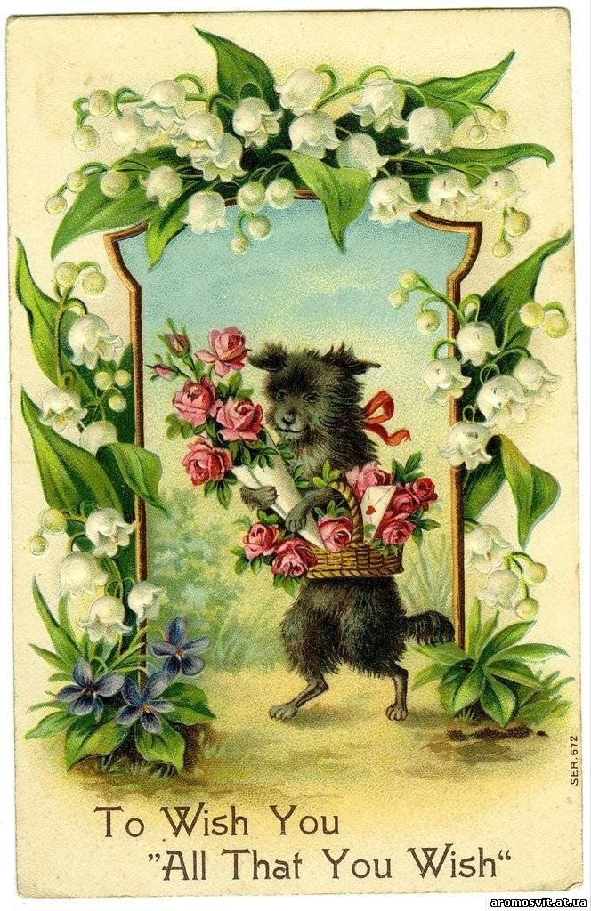 Фото старинные открытки с днем рождения, раскраску открытку день