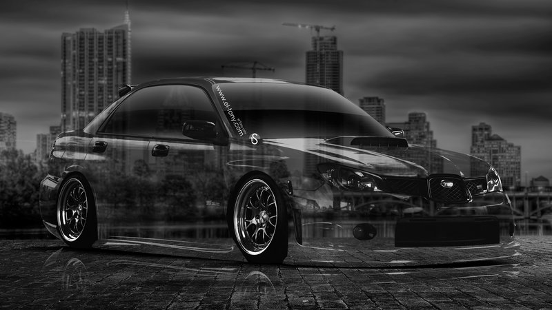 Perfect Subaru Impreza WRX STI JDM Crystal City Car