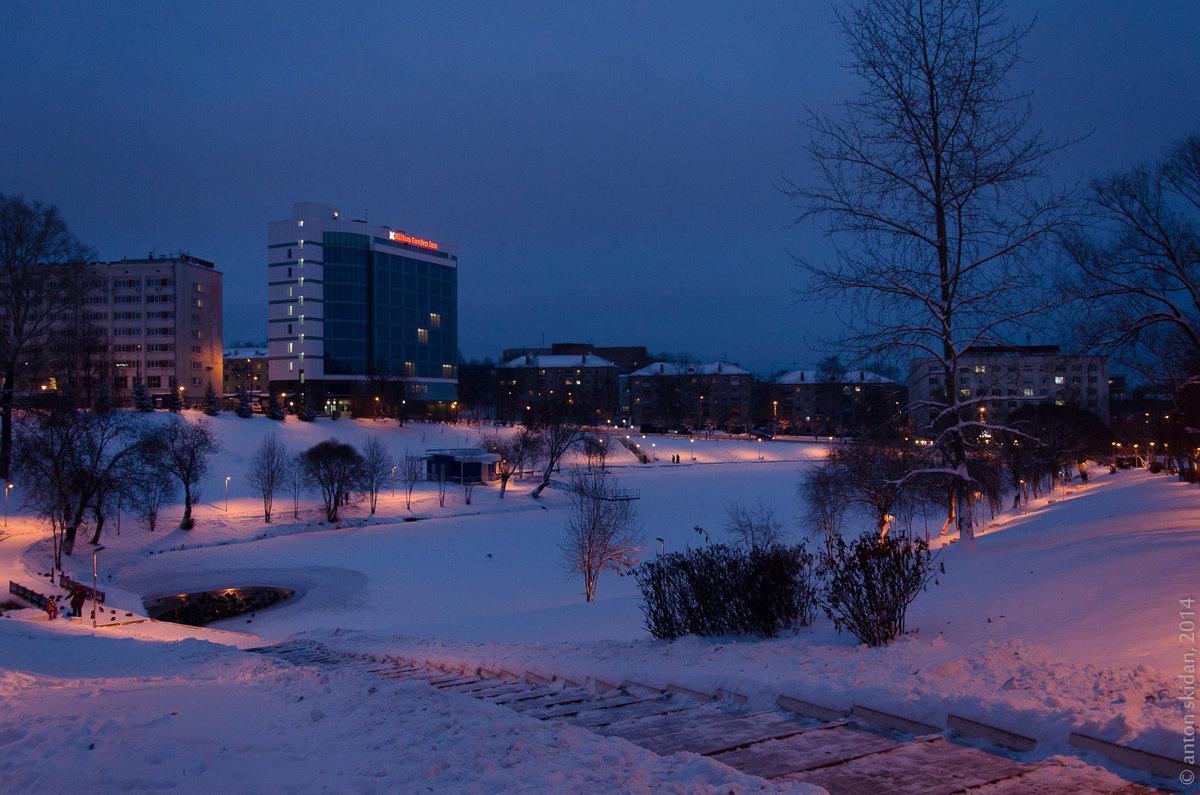 фото зимний вечер в кирове даже приводил