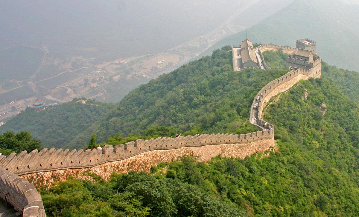 китайская стена картинки для