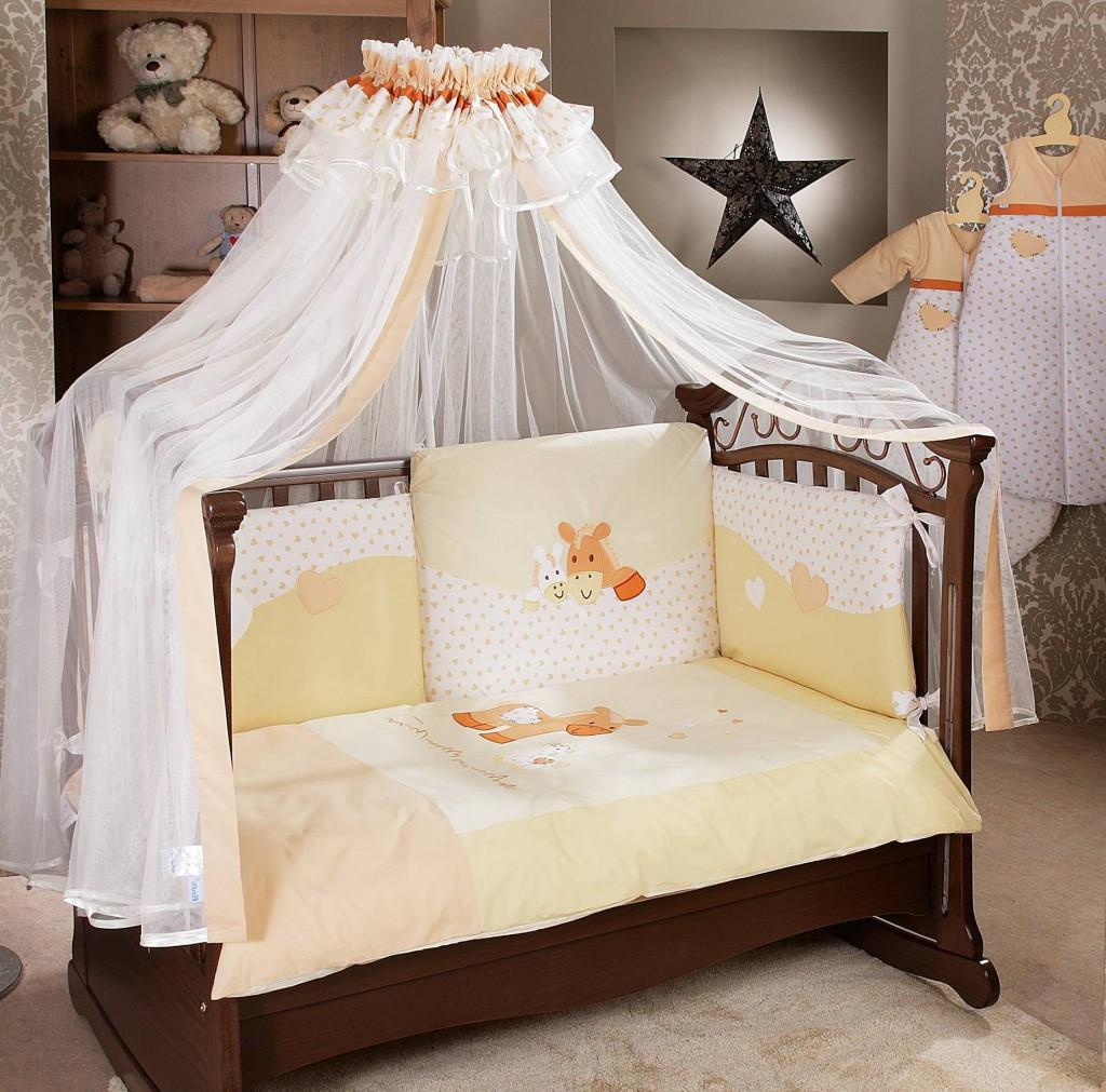 Балдахин на детскую кроватку своими руками: выкройка пошагово с фото.