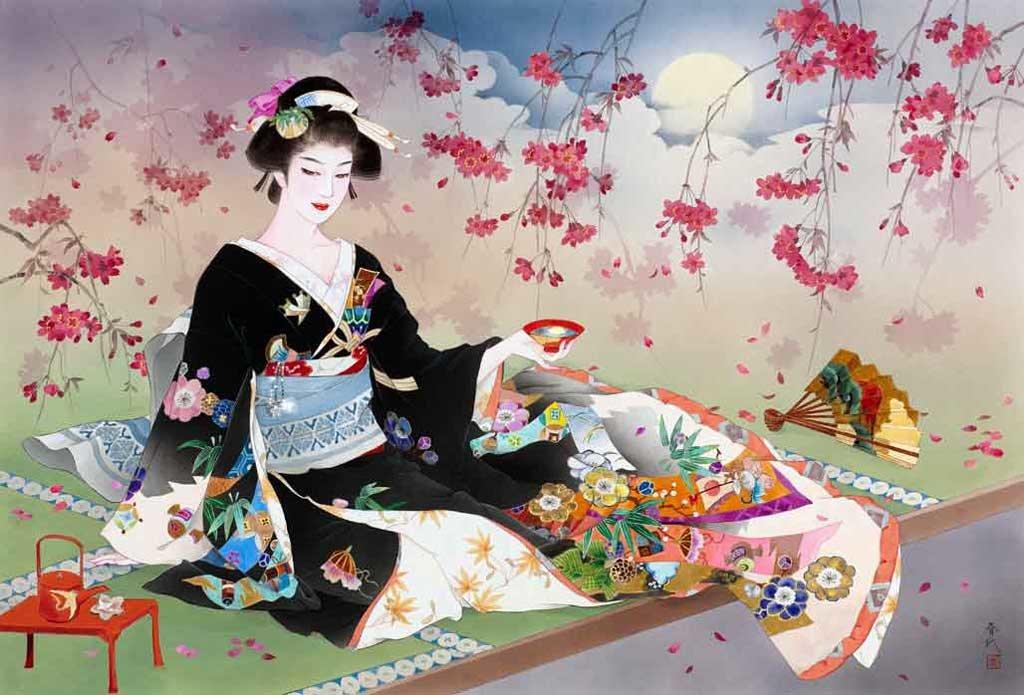 Открытки какую, китайские и японские открытки