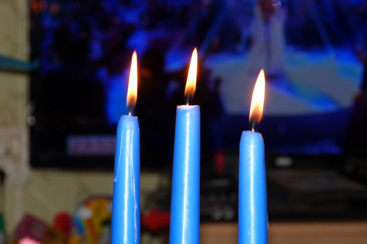 Картинки простых свечек