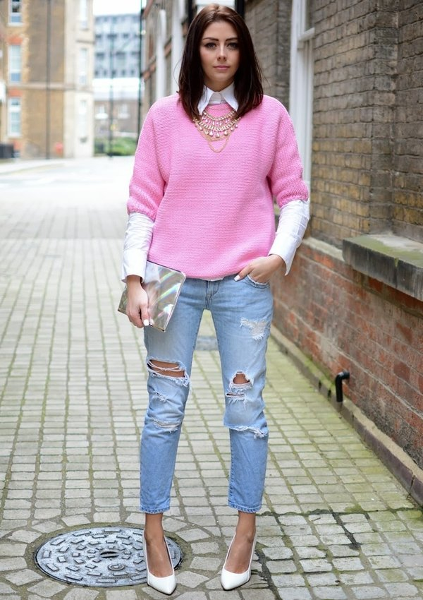выложил сторис розовый джемпер с чем носить фото обойдут вас