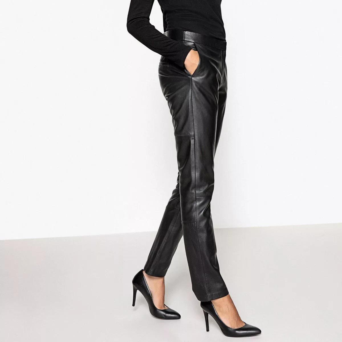кожаные брюки купить