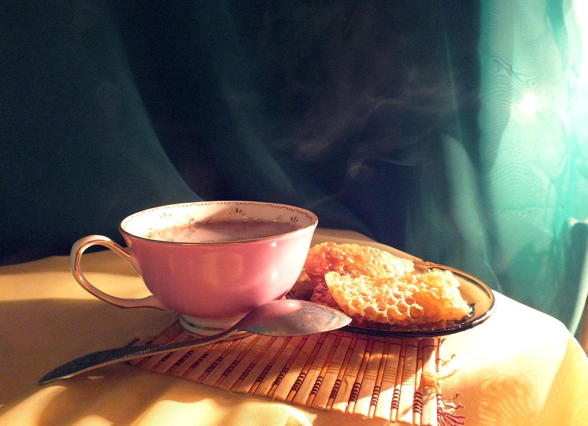 Красивые фото утреннего чая