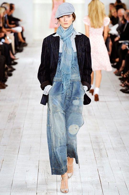 шикарная идея модели джинсового комбинезона для беременных