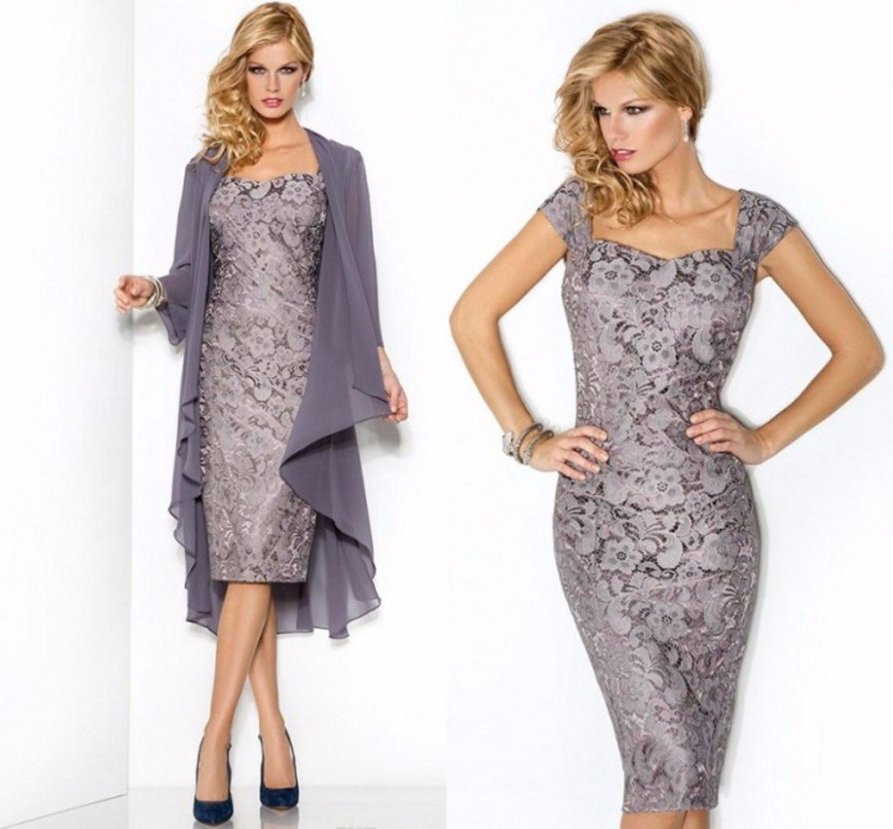 fd210b2d2de Кружевные платья на выпускной - короткие и длинные