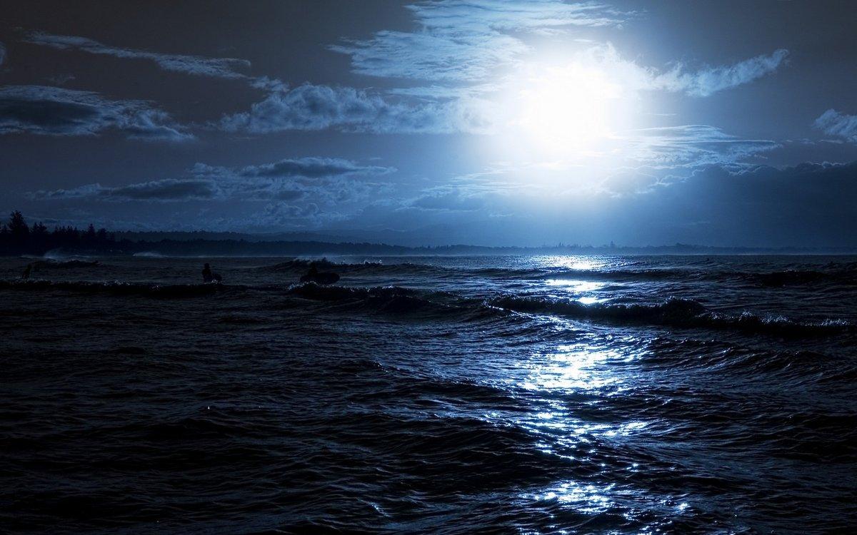 Открытка с темной ночью, картинки поздравлениями
