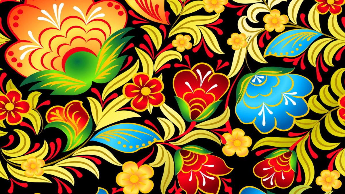 Картинки фон цветы красивые русский стиль