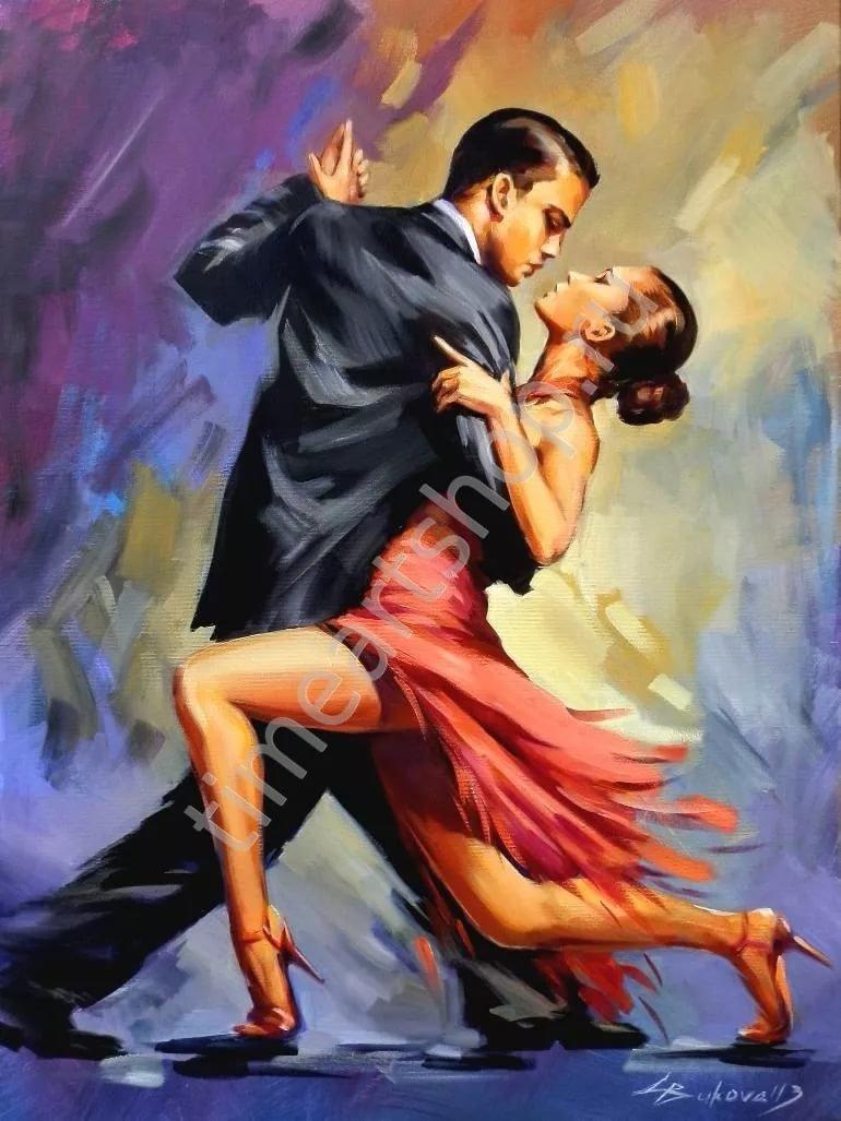 Открытки, танцующие пары картинки рисунки