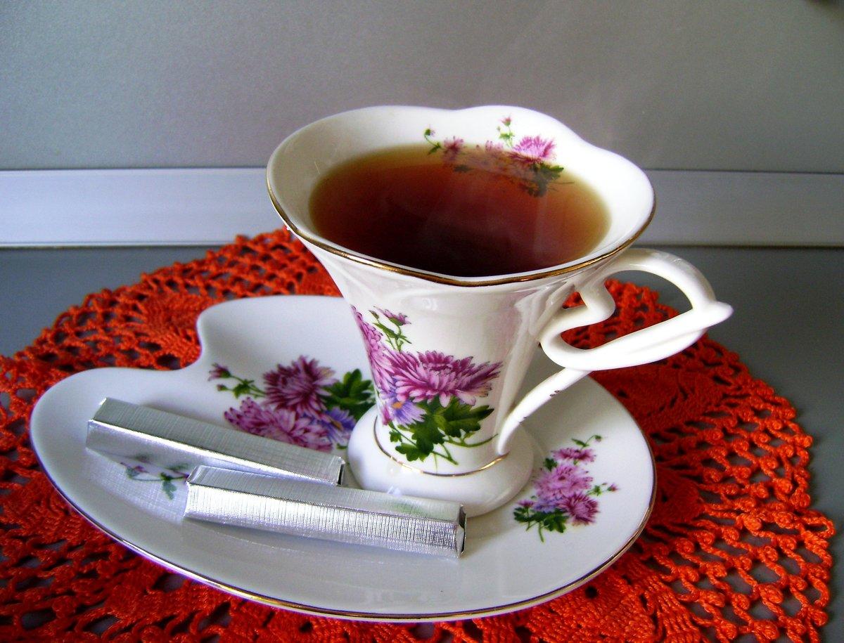 Открытки с кружкой чая, ландыши добрым