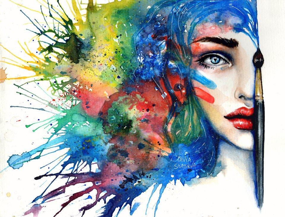 креативные картинки нарисовать