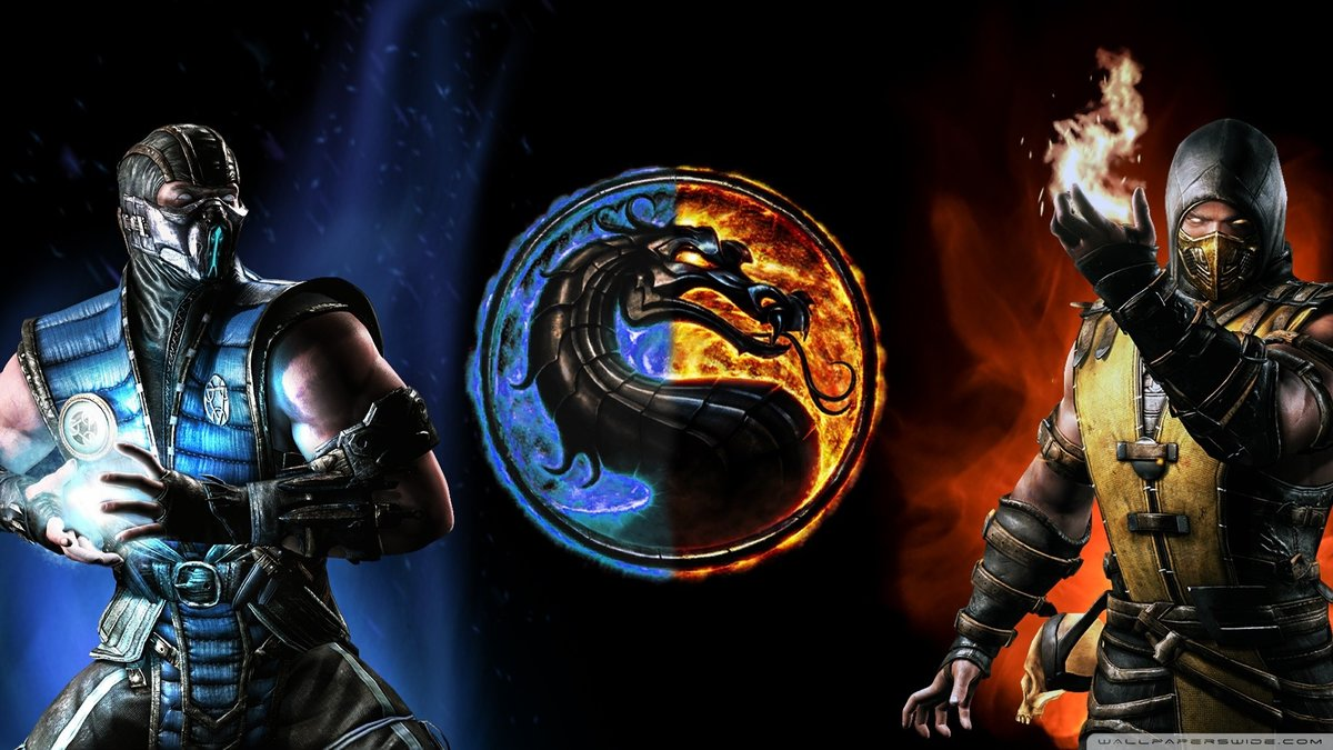 "mortal kombat wallpapers scorpion (65+ images)"" — card from user"