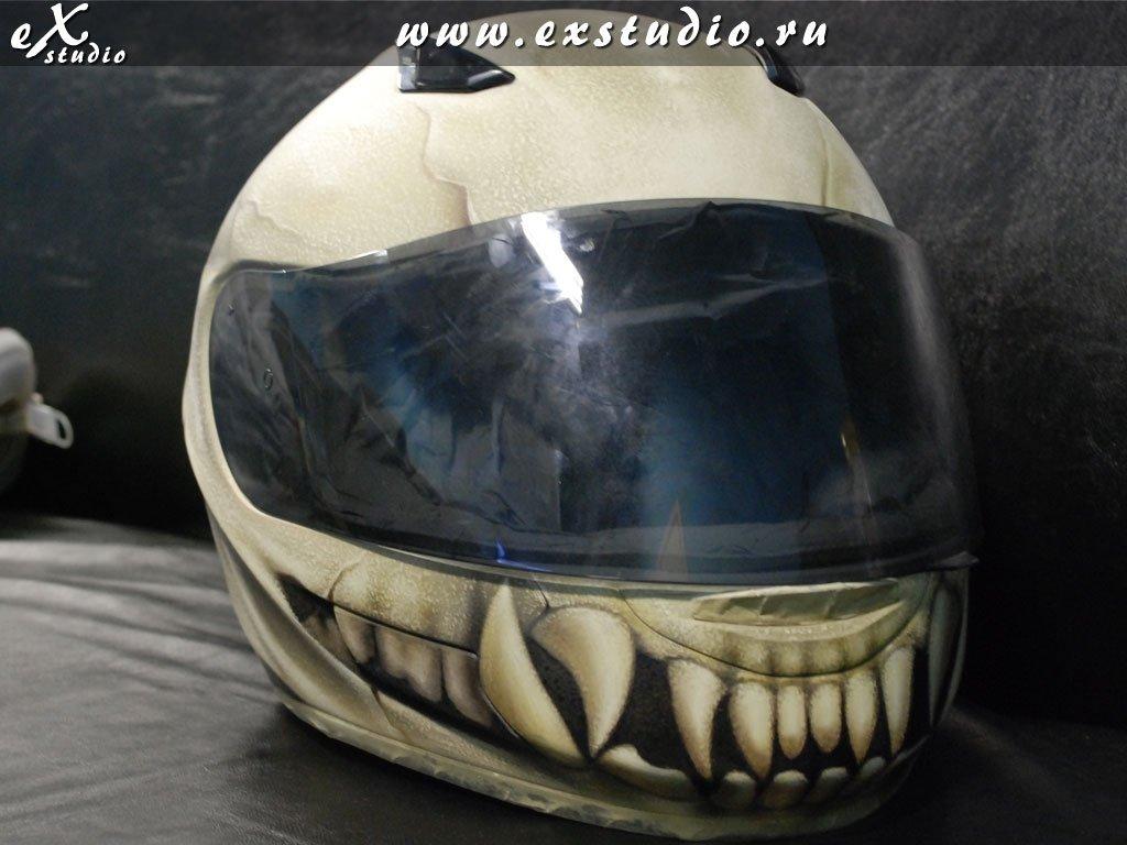 шлем с зубами фото разнообразные форме