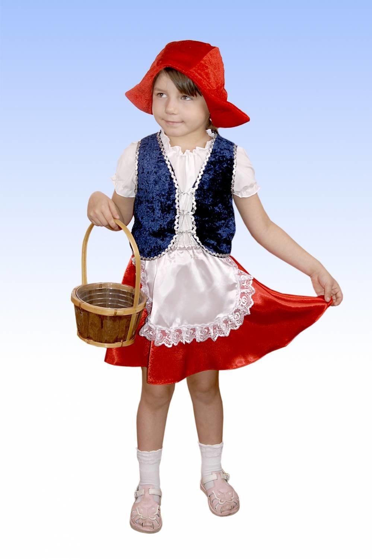 Картинка костюма красной шапочки