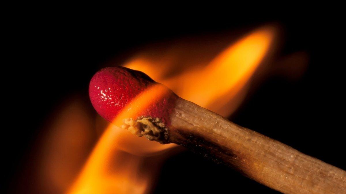 Картинки спички огонь