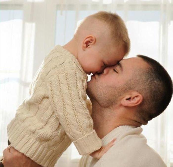 Отец с сыном картинки с надписью
