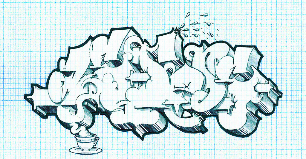 Рисунки граффити карандашом картинки