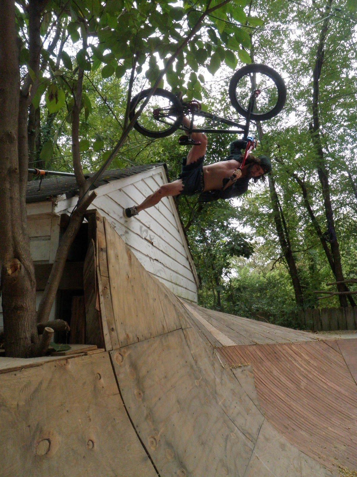 Bmx Dirt Jumps Backyard - Bmx United