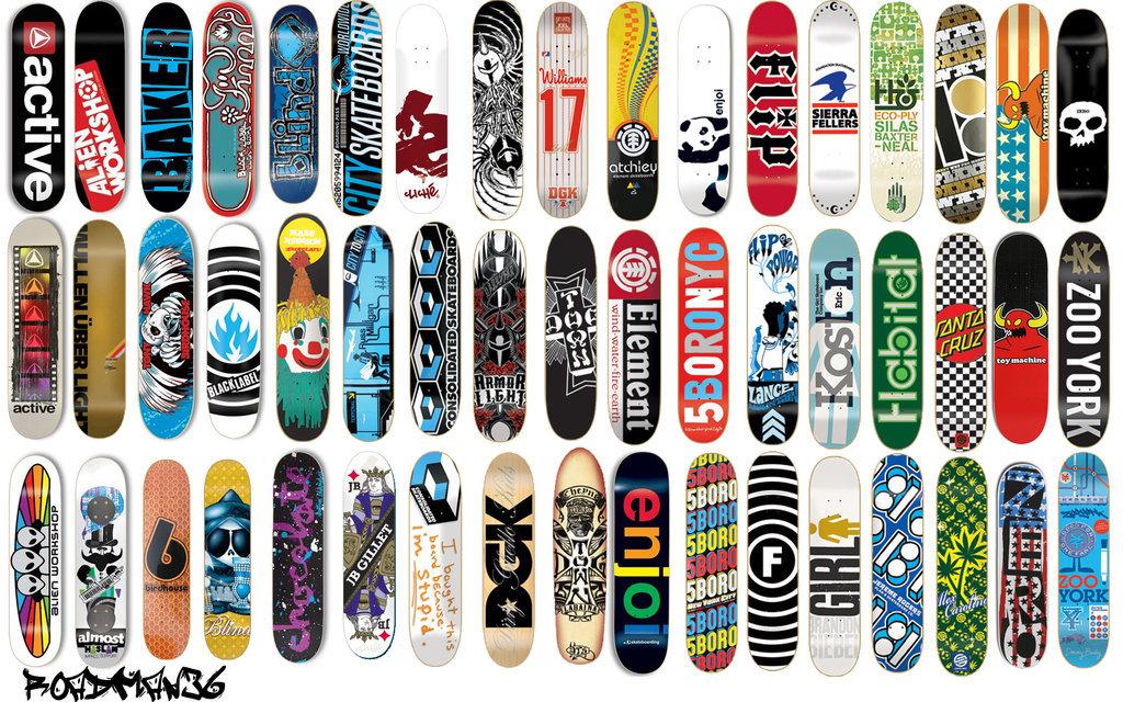 Бренды скейтов с картинками