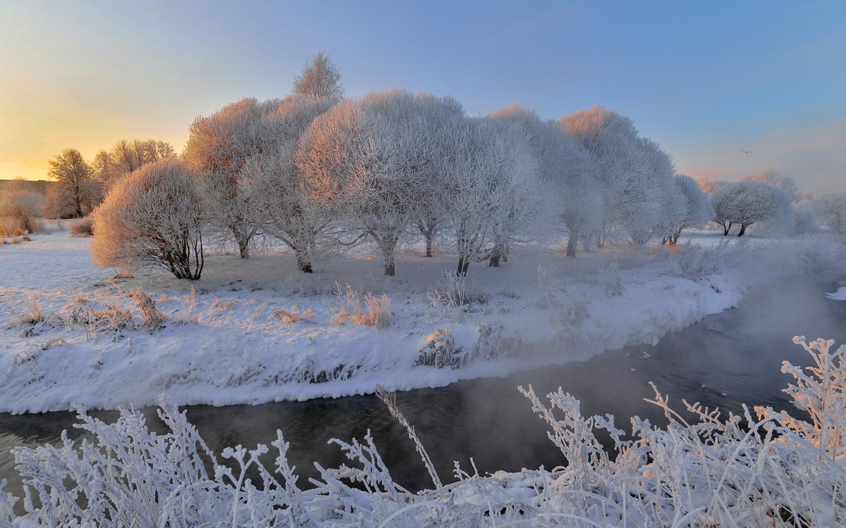 острове фотографии русской зимы сегодня