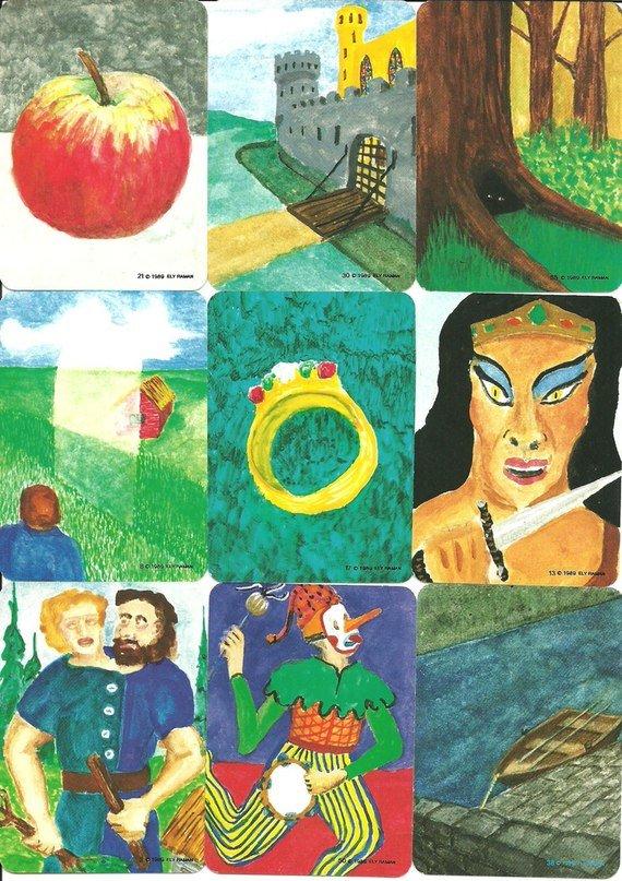 картинки метафорические карты миф коллекционер