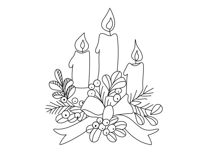 Рождественская открытка нарисовать поэтапно, день спасателя