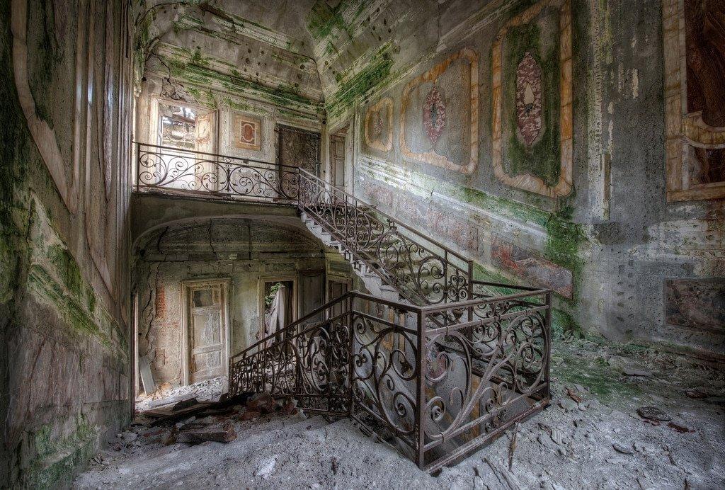 этой заброшенные дома москва фото что скачки