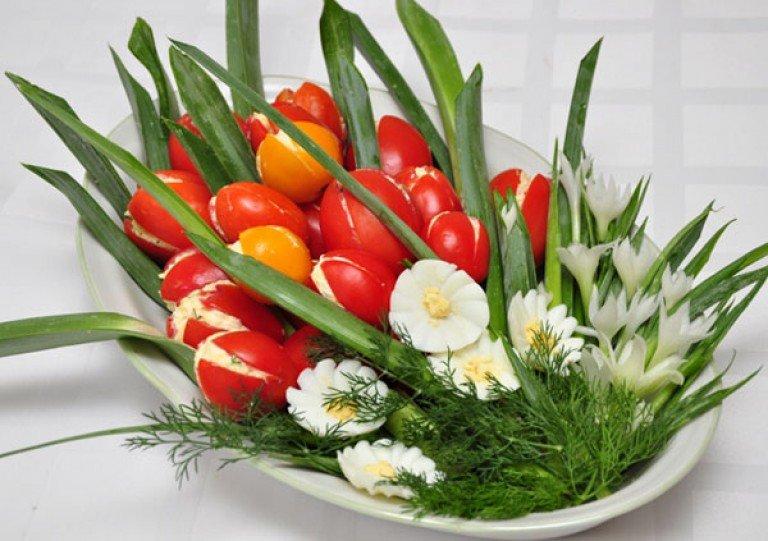 можете салат тюльпаны фото рецепт меня слева