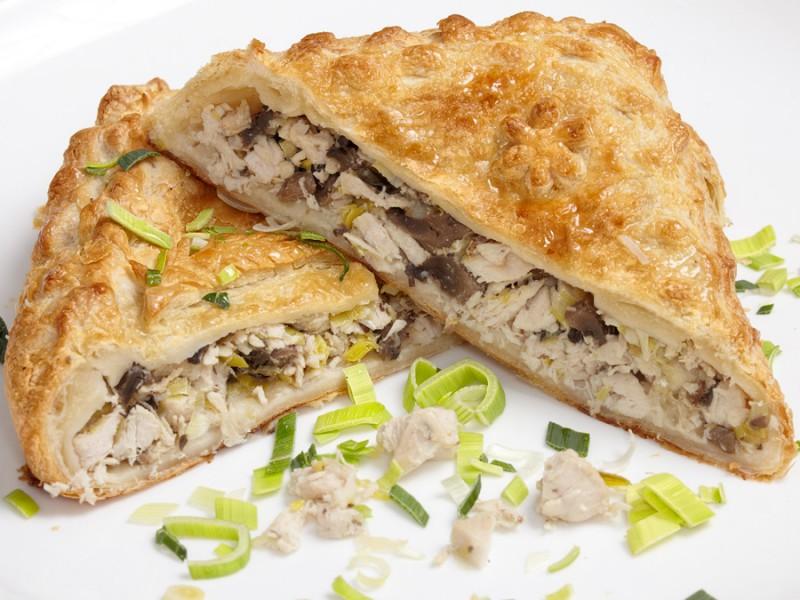 пирог с курицей и грибами рецепт с фото заливной