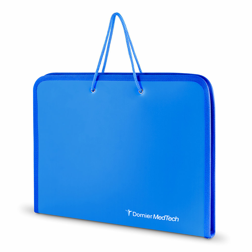 Пластиковая папка-портфель с логотипом
