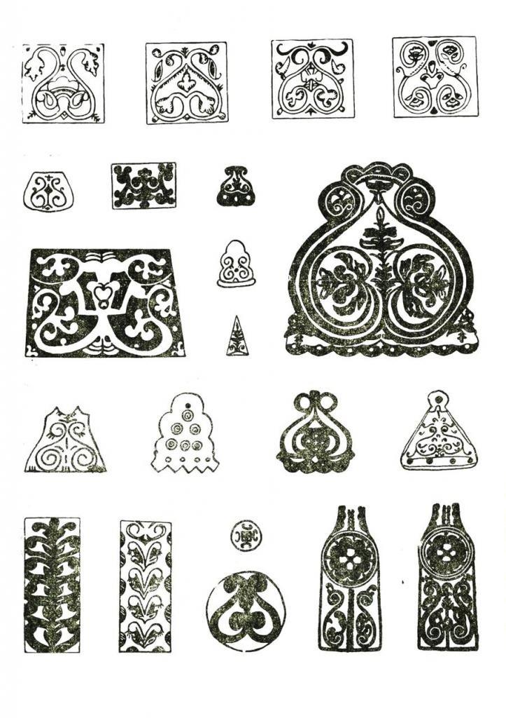 Картинки якутские орнаменты