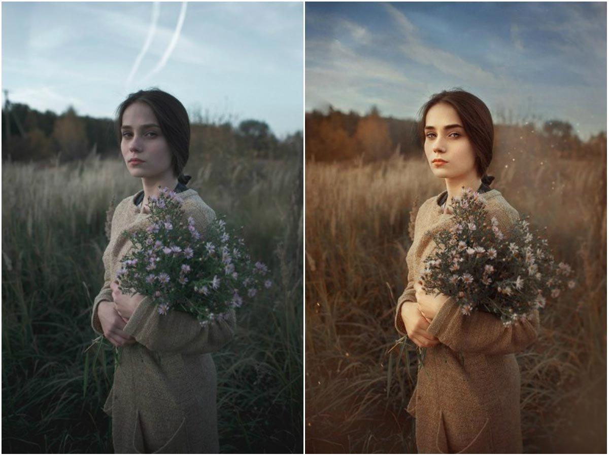 Фотография обработка посторонние цвета