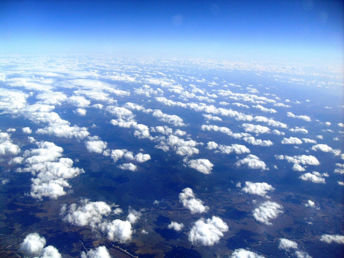 небо фото с высоты уже было сказано