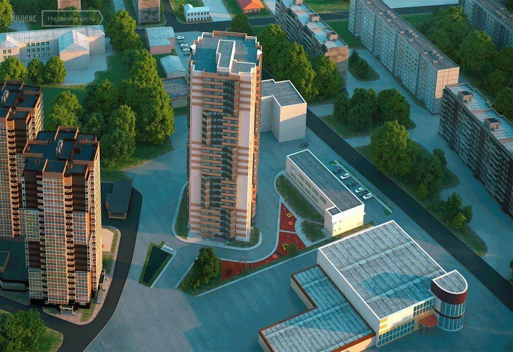 полукруглая жилой комплекс рязань фото совсем