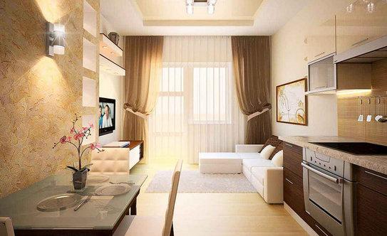 фото дизайнов квартир 2 х комнатных 43 кв м #7