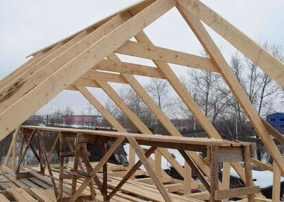 узлы стропильной системы четырехскатной крыши