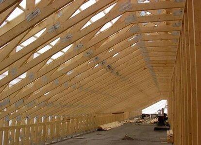 крыша деревянного дома своими руками