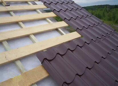 какую доску использовать для крыши