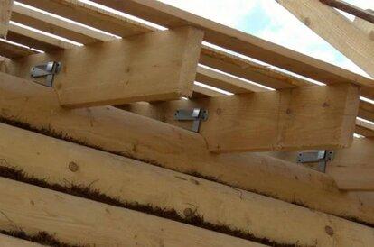 длина стропил односкатной крыши
