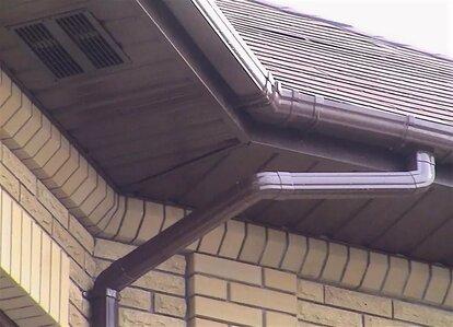 ширина карниза крыши дома