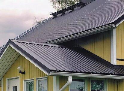 как перекрыть старую крышу профнастилом