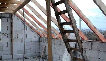 как сделать крышу мансарду своими руками