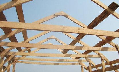 как построить крышу мансардного типа