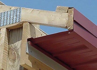 чем подшить крышу снизу