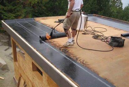 чем кроют крышу гаража